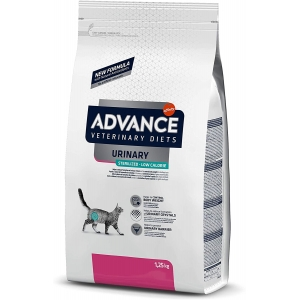 ADVANCE Veterinary Diets Cat Urinary Sterilized Low Calorie 1,25kg